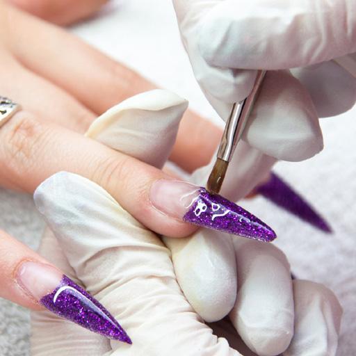 Medicina da un fungo di unghie per immissione e