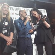 Premiazione ufficiale. Complimenti!!!!! Alla nostra allieva che ha vinto alla competizione di varie scuole d'Italia di trucco all'edizione di Fashion Lab Milano